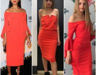 Solange Red Dress
