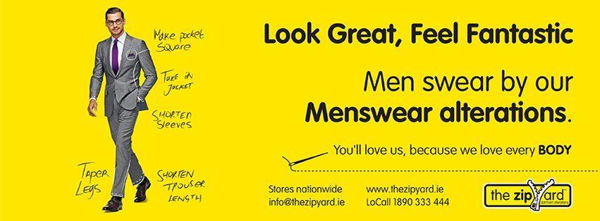 Men swear by our Menswear alterations