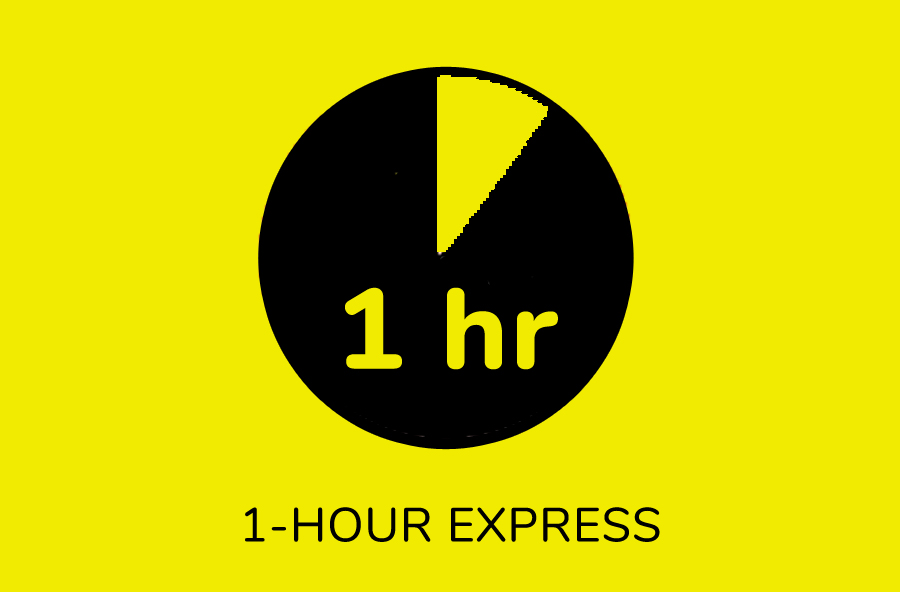 1 Hour Express Service