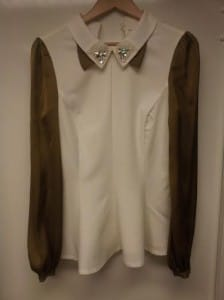 white blouse result - when two become one