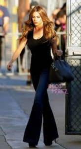 sofia flared jeans