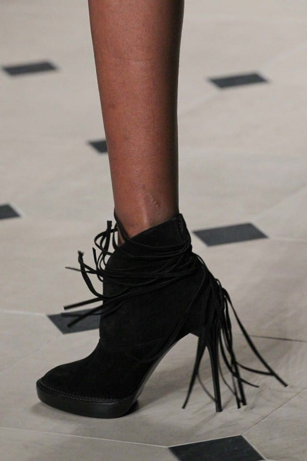 The Zip Yard Fringed Boots