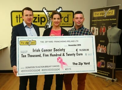 The Zip Yard - Irish Cancer Society 1