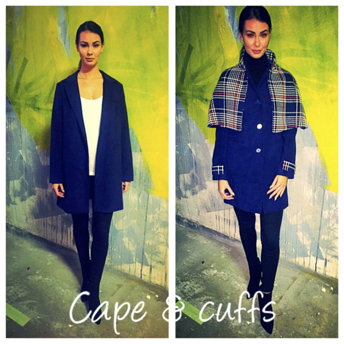 Oct 2016: The Cape Coat: Alterations by the Zip Yard