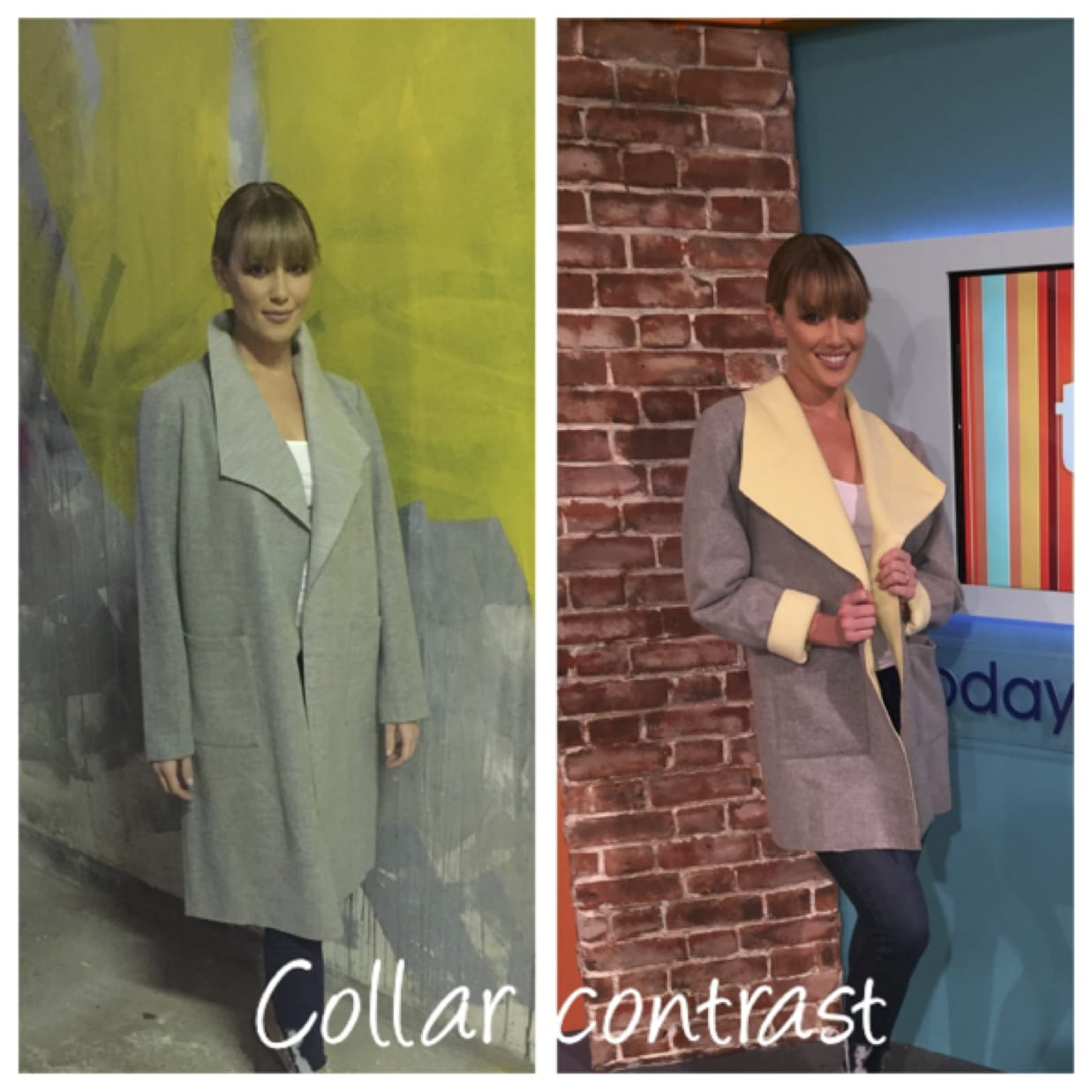 Oct 2016: The Colour-Block Coat: Alterations by the Zip Yard