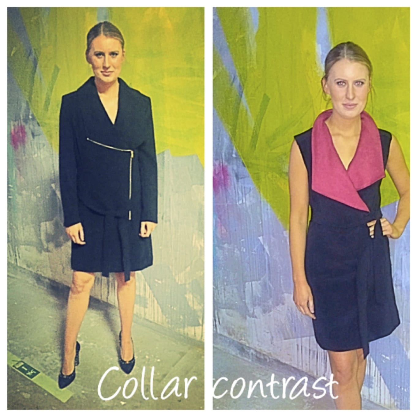 Oct 2016: The Wrap Dress: Alterations by the Zip Yard
