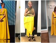 Jennifer Lopez Yellow Jumpsuit