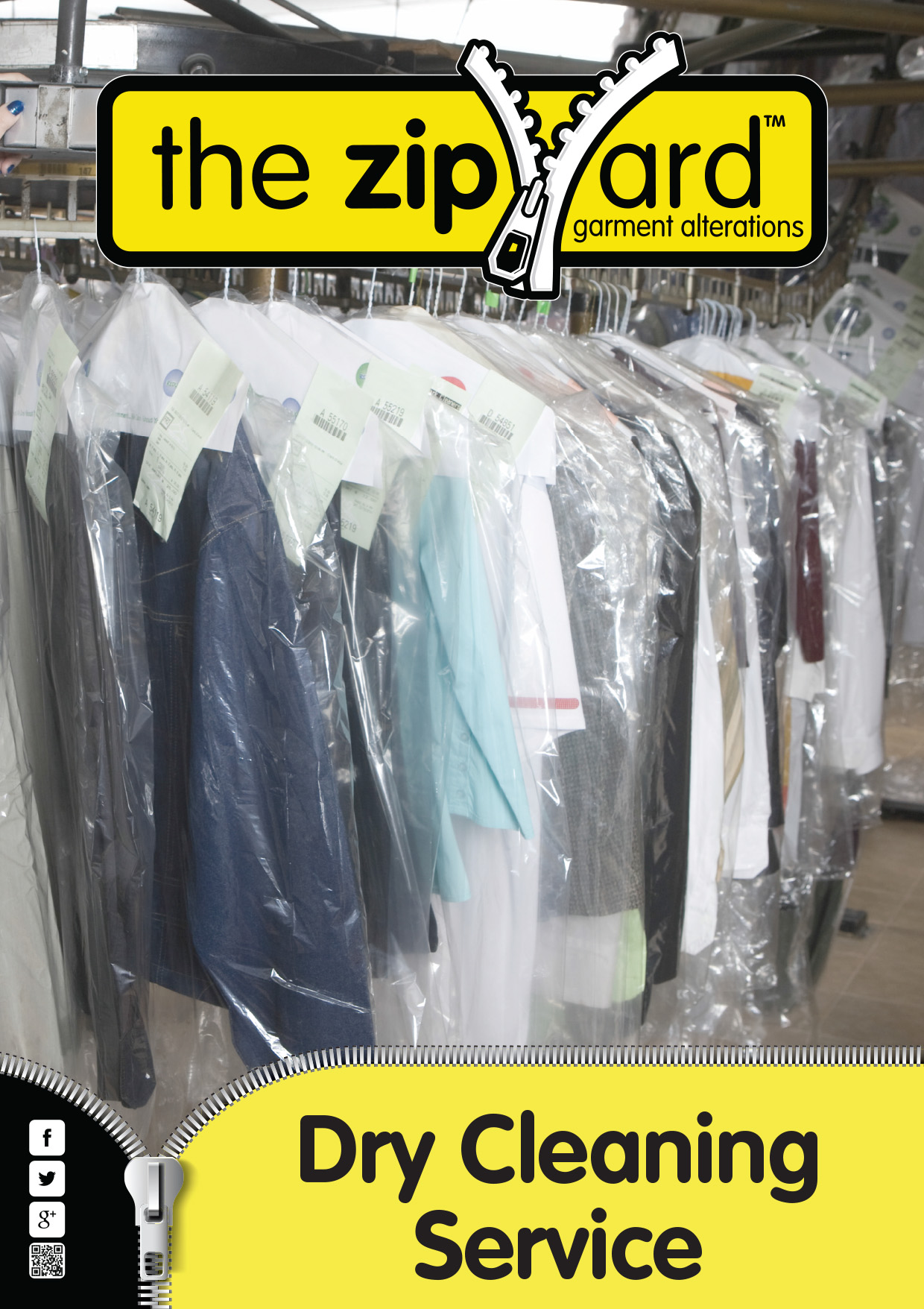 Dry Cleaning Service at The Zip Yard
